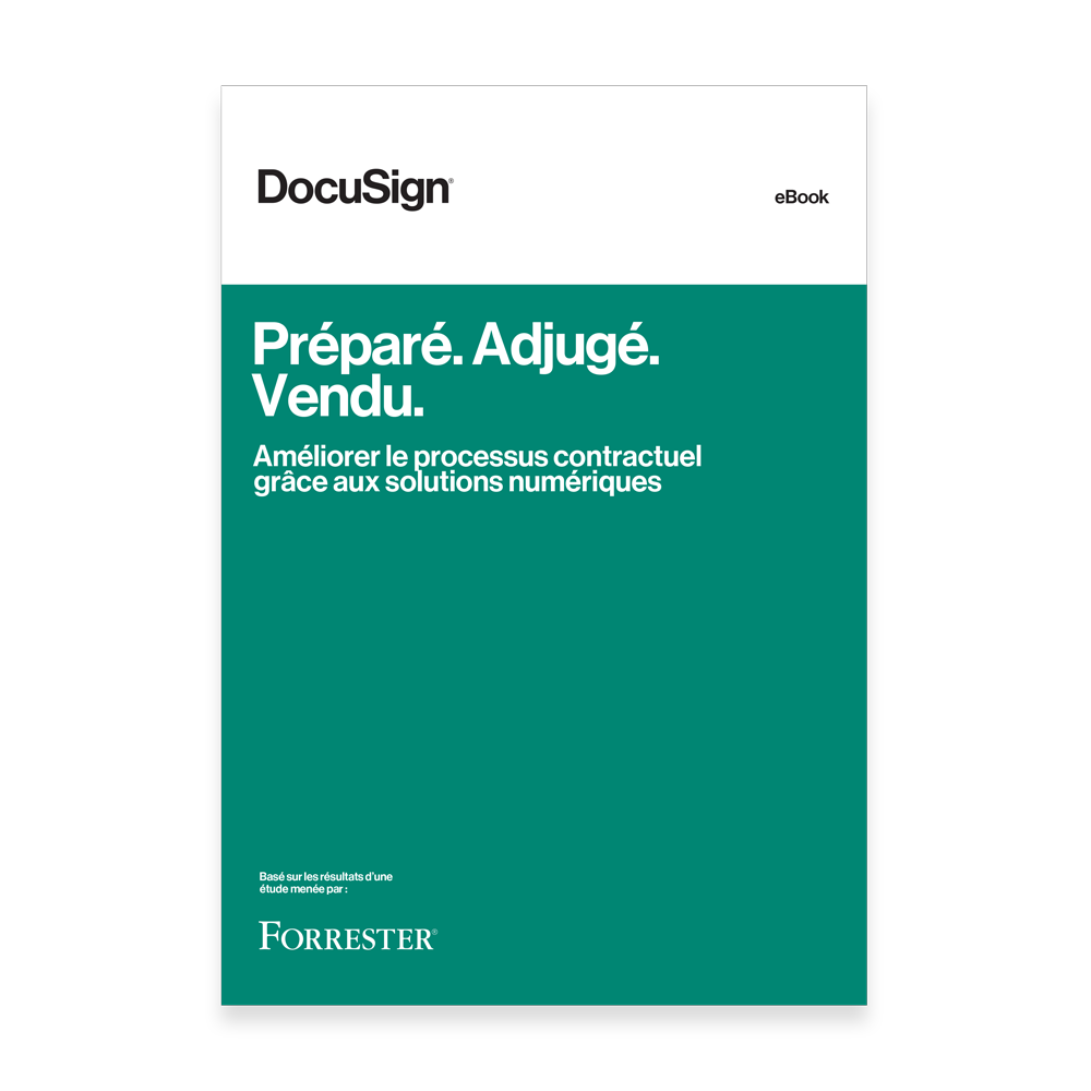 eBook Forrester DocuSign Ventes