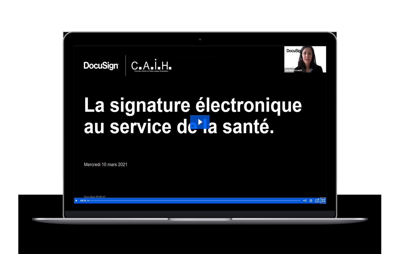 Webinar DocuSign CAIH Hopitaux