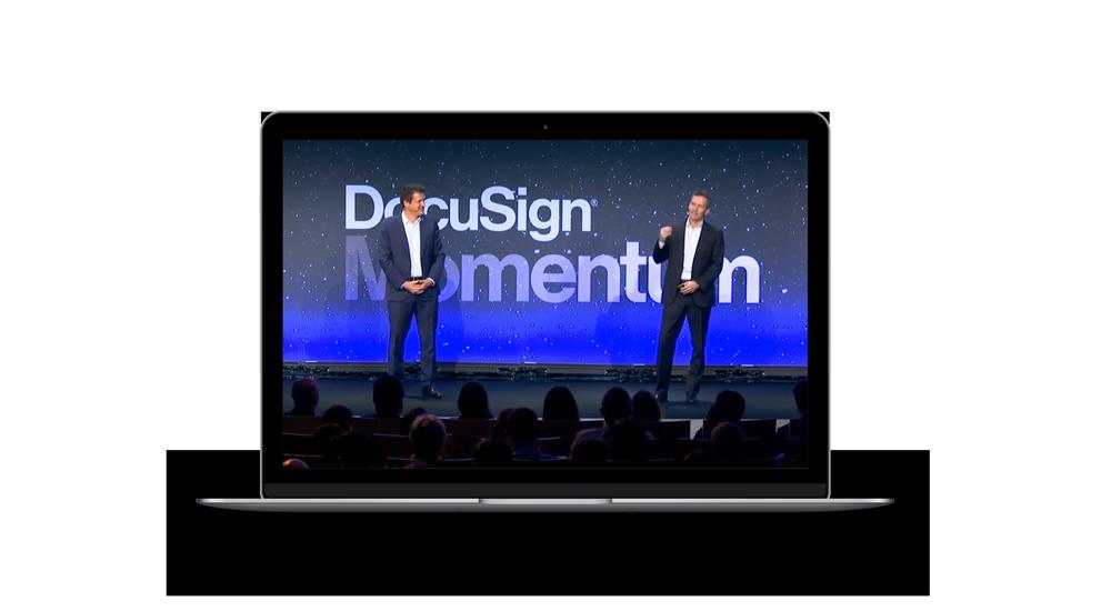 Conférence d'ouverture DocuSign Momentum Paris 2019