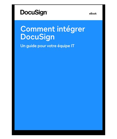 Intégrations DocuSign