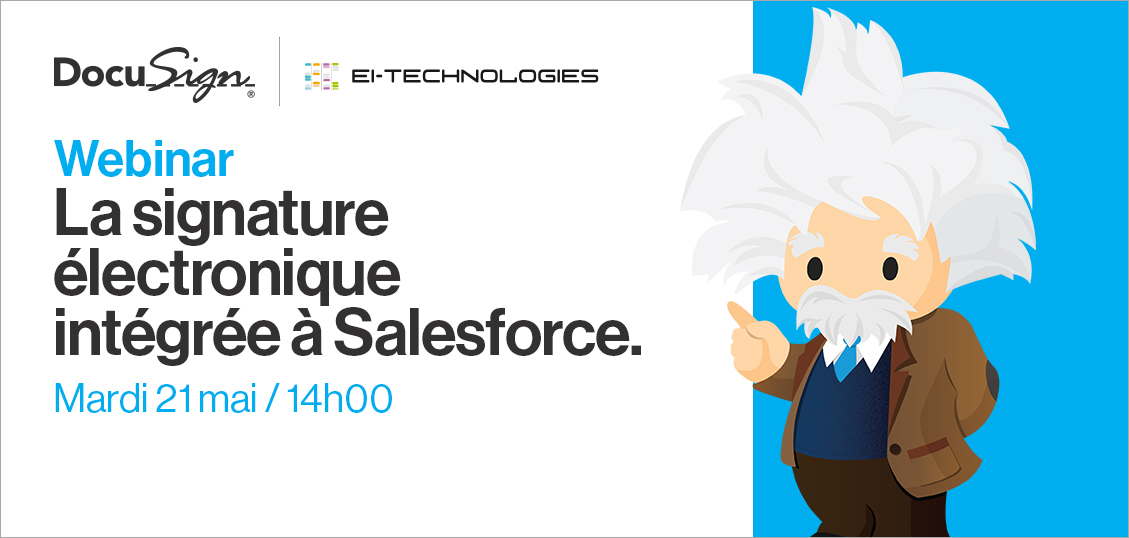 DocuSign pour Salesforce Webinar