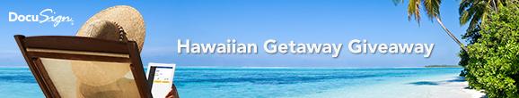 DocuSign Hawaiian Getaway Giveaway