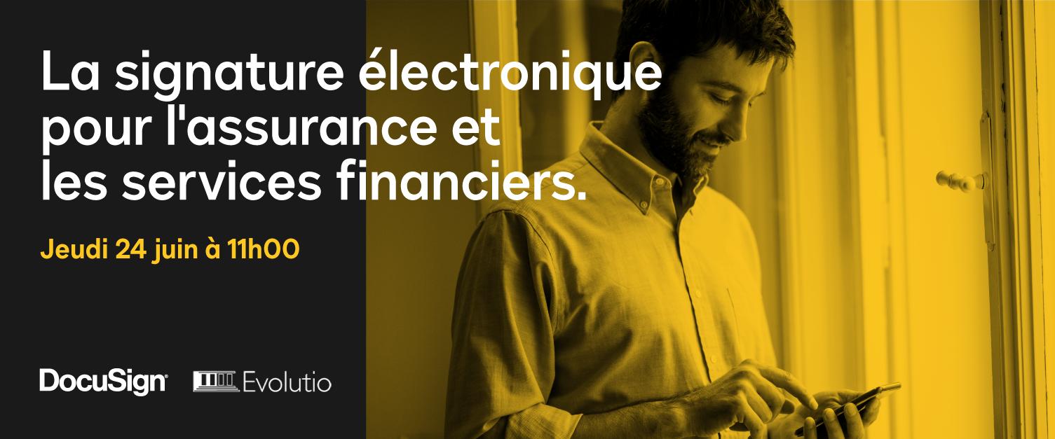 Webinar Services Financiers DocuSign