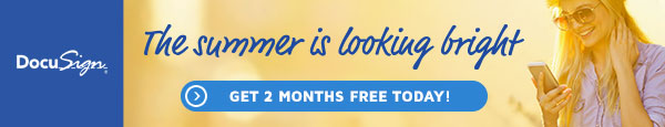 Get 2 months free of DocuSign