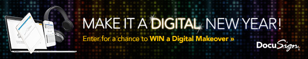 Make it a Digital New Enter to Win and Save $50 on DocuSign