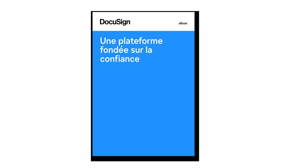 DocuSign eBook confiance numérique et sécurité