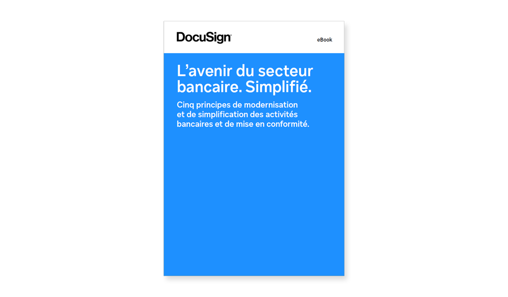 eBook DocuSign Avenir su secteur bancaire